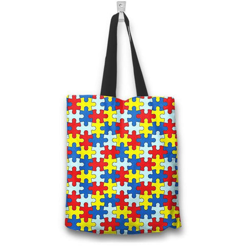 Autism Awareness Tote Bag - Spicy Prints