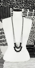 ONYX SPHERE NECKLACE (LONG & EXTRA LONG)