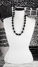 ONYX DOT BEADED NECKLACE (MEDIUM, & LONG)
