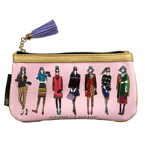 Everyday I'm Sparklin' Pencil/Eyeglass Case