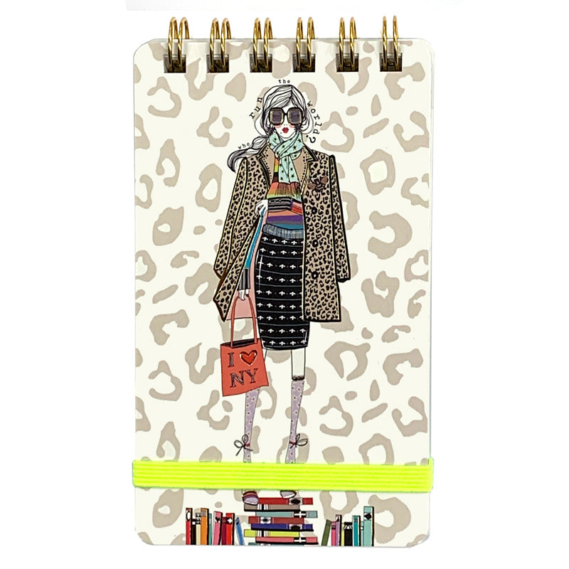 Who Run The World Mini Notebook