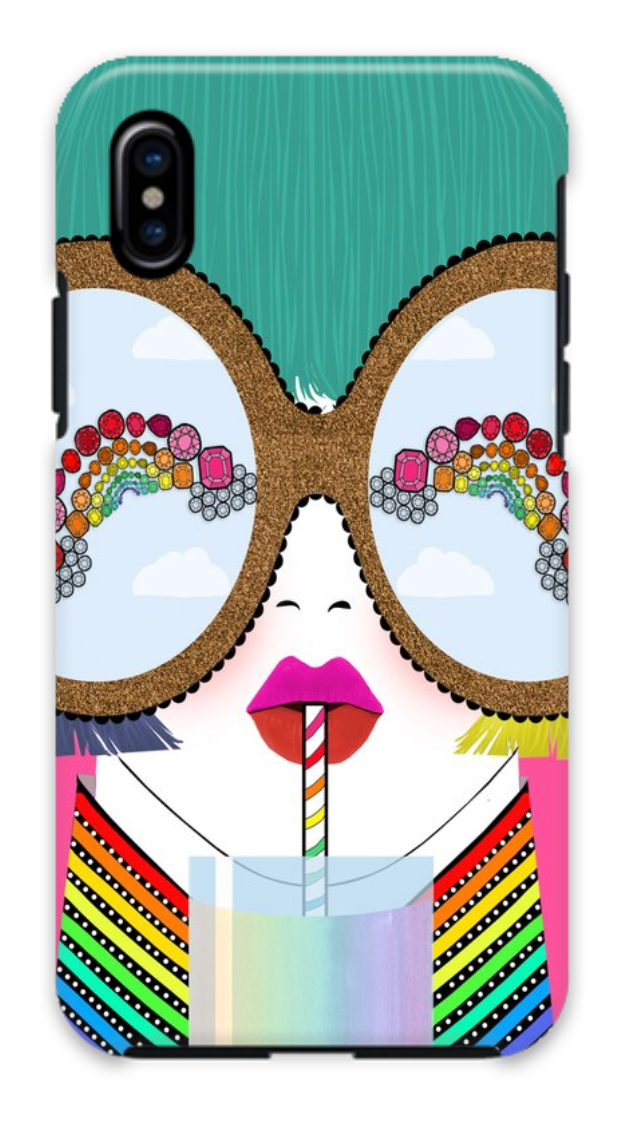 Gem Sunglasses iPhone X/Xs Case