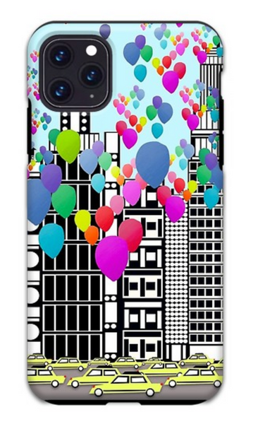 New York City Balloons iPhone Case