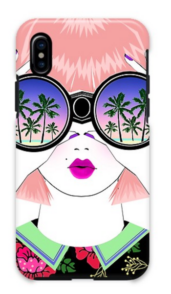 Palm Tree Binoculars iPhone X/Xs Case