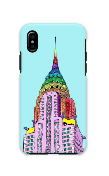 Rainbow Chrysler iPhone Case