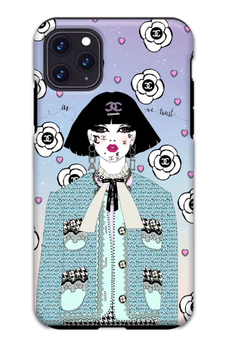 In Chanel We Trust iPhone Case