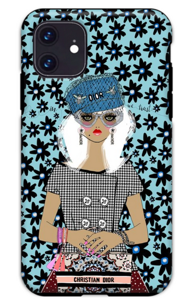 In Dior We Trust iPhone Case