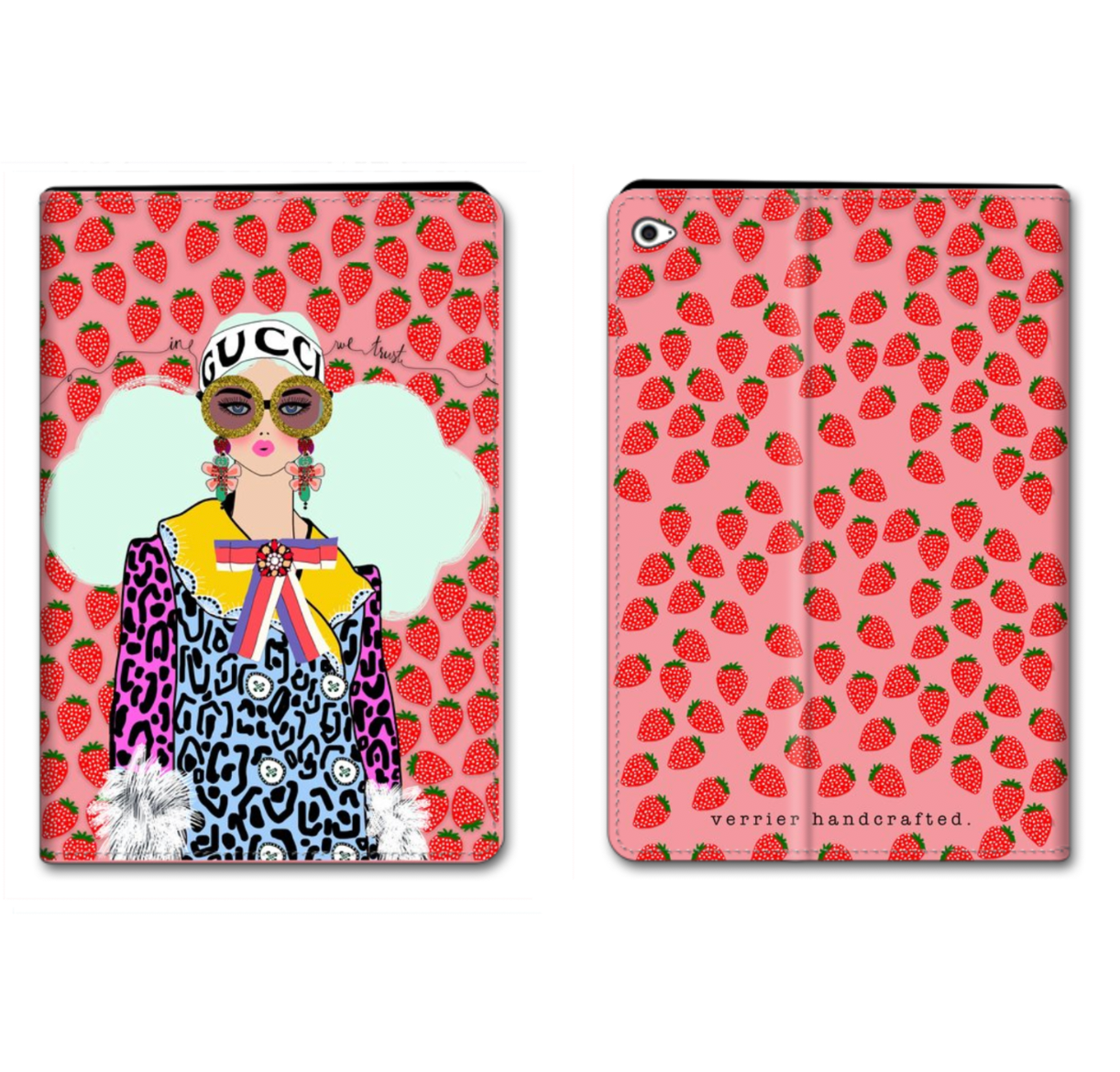 In Gucci We Trust iPad Case
