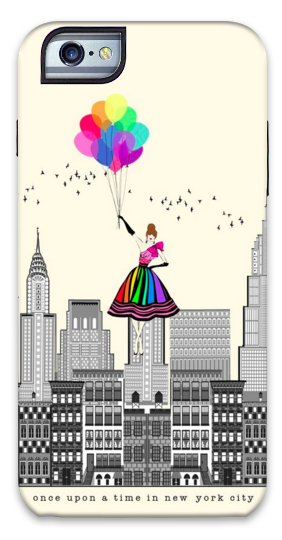 Once Upon A Time In New York City iPhone Case
