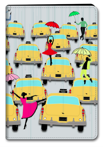 Manhattan Taxis iPad Case