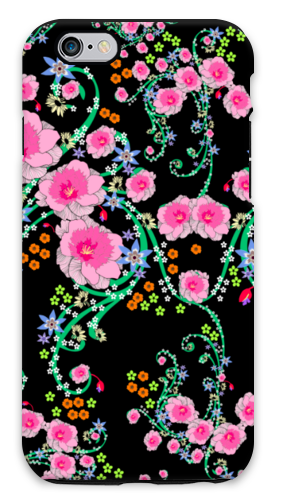 Rainbow Botanical iPhone Case