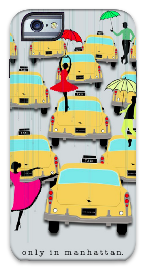 Only In Manhattan iPhone Case