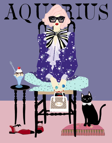 AQUARIUS (GREETING CARD)