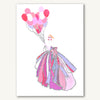 Pink Dress With Heart Balloons