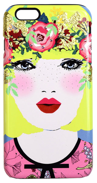 Bloom Floral Embellished iPhone Case