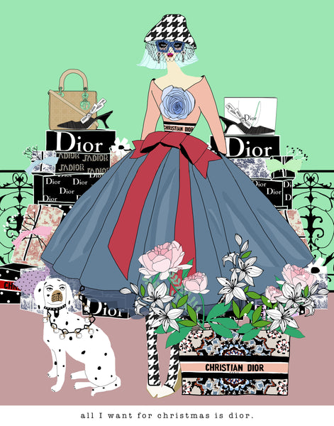 All I Want For Christmas is Dior
