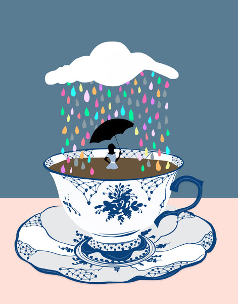 Coffee Showers (PRINT)
