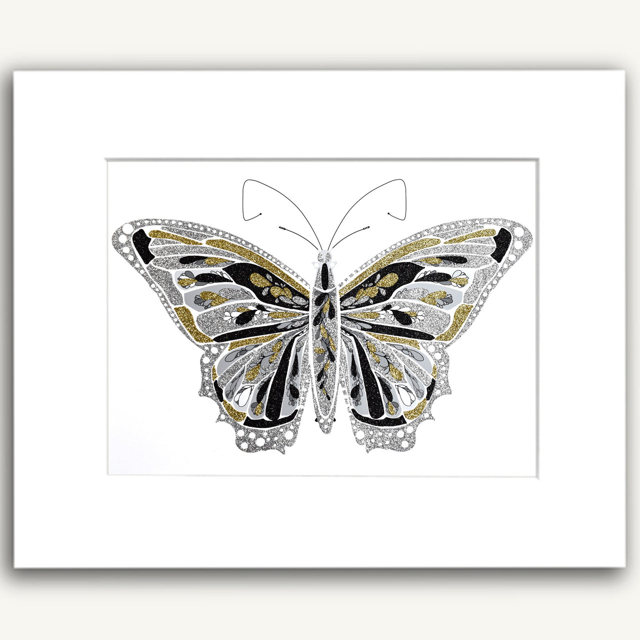 Gray Butterfly