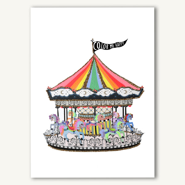 Color Me Happy Carousel