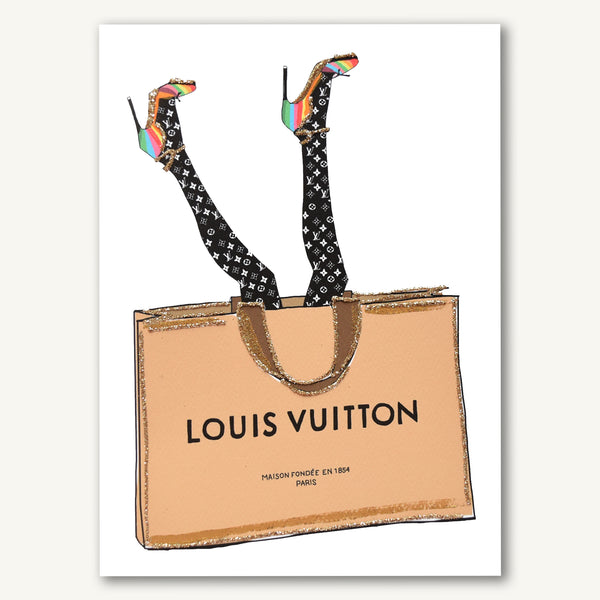 Head Over Heels Louis Vuitton (no words)