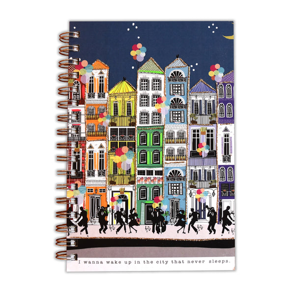 I Wanna Wake Up In The City That Never Sleeps Notebook