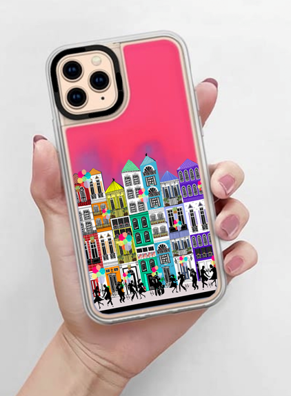 I Wanna Wake Up In The City Neon Sand iPhone X/Xs Case