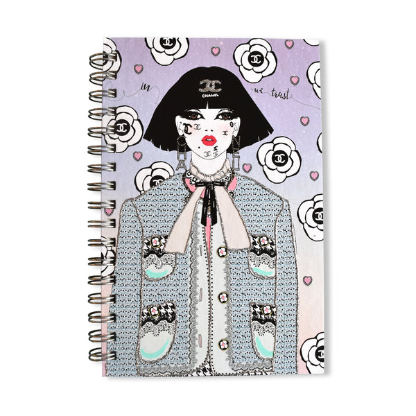 In Chanel We Trust Notebook