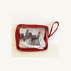 New York City In The Palm Of Your Hand Vinyl Cosmetic Bag