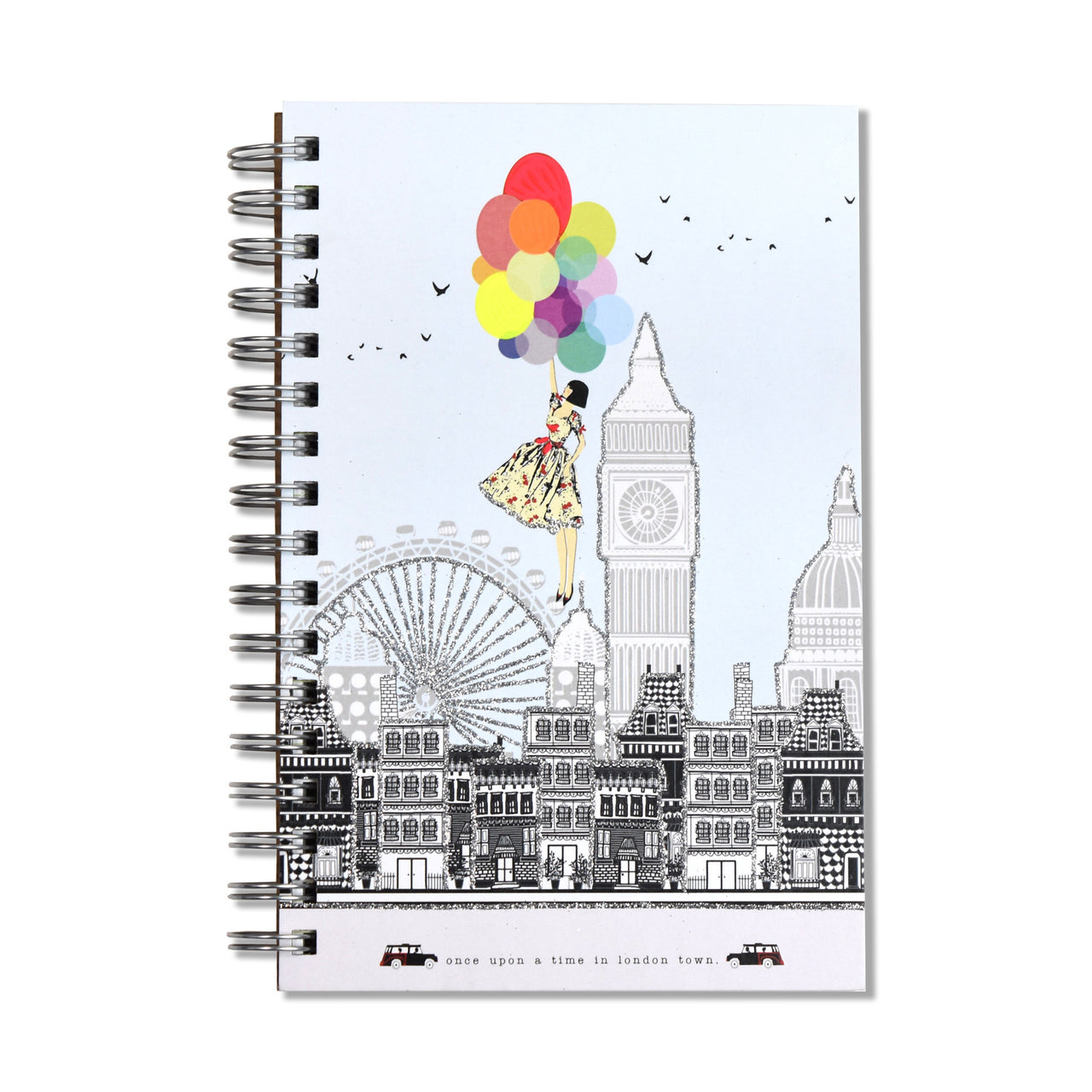 Once Upon A Time In London Town Notebook