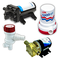 Bilge and Livewell Pumps