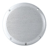 PolyPlanar 4 2-Way Coax Integral Grill Marine Speaker - (Pair) White