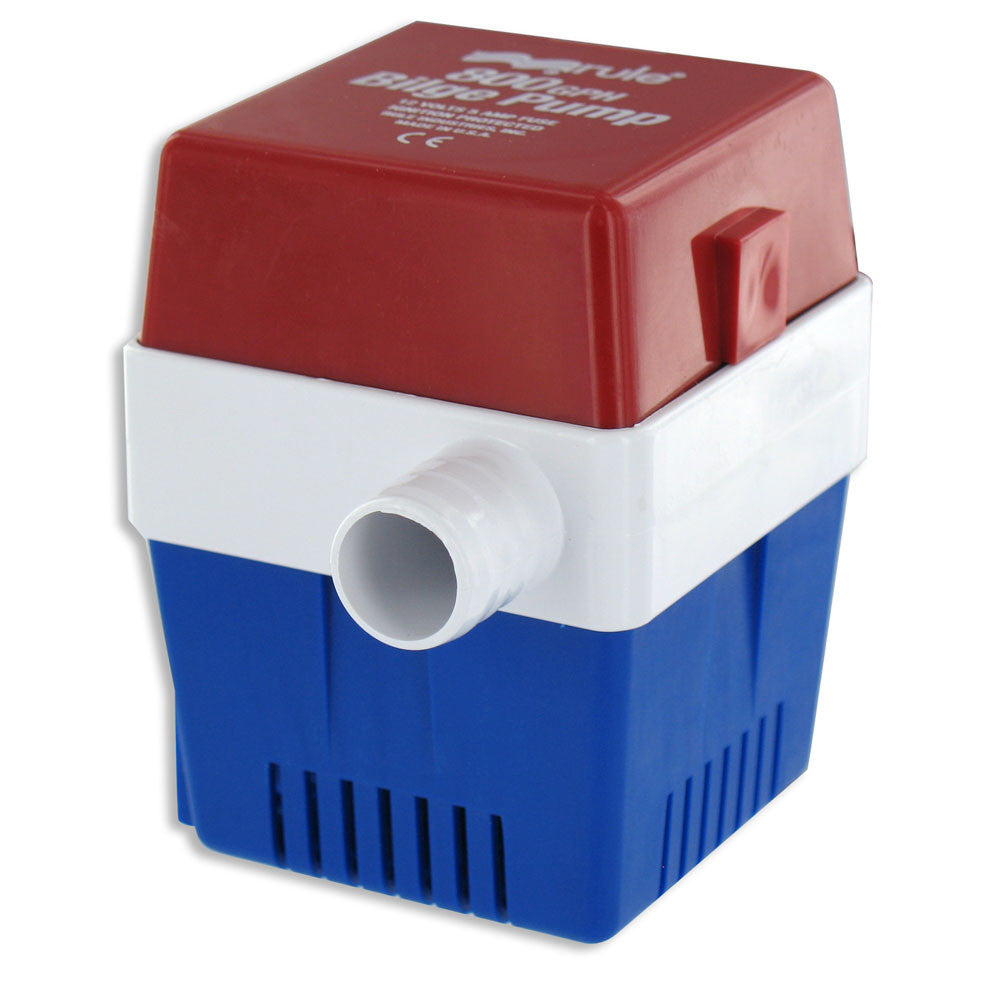 Rule 800 G.P.H. Square Bilge Pump