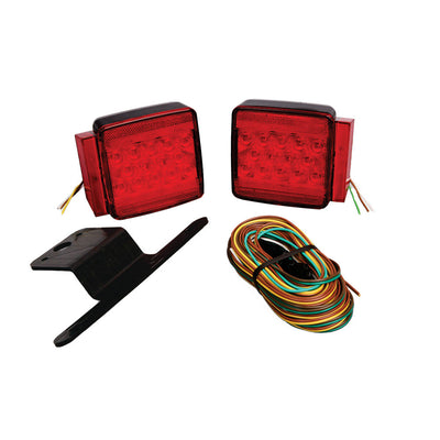 Wesbar Under 80 Submersible LED Combination Trailer Light Kit