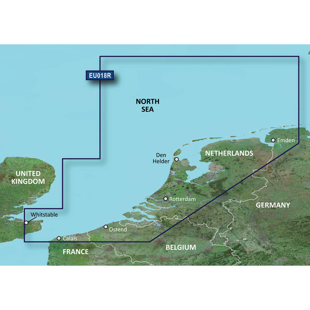 Garmin BlueChart g2 HD - HXEU018R - The Netherlands - microSD/SD