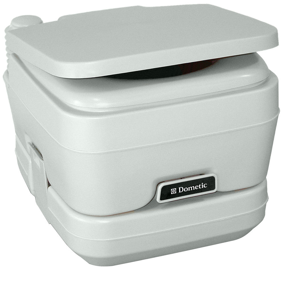 Dometic - 964 MSD Portable Toilet 2.5 Gallon Platinum