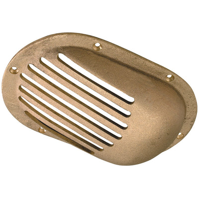 Perko 3-1 2 x 2-1 2 Scoop Strainer Bronze MADE IN THE USA