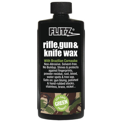 Flitz Rifle, Gun & Knife Wax - 7.6 oz. Bottle
