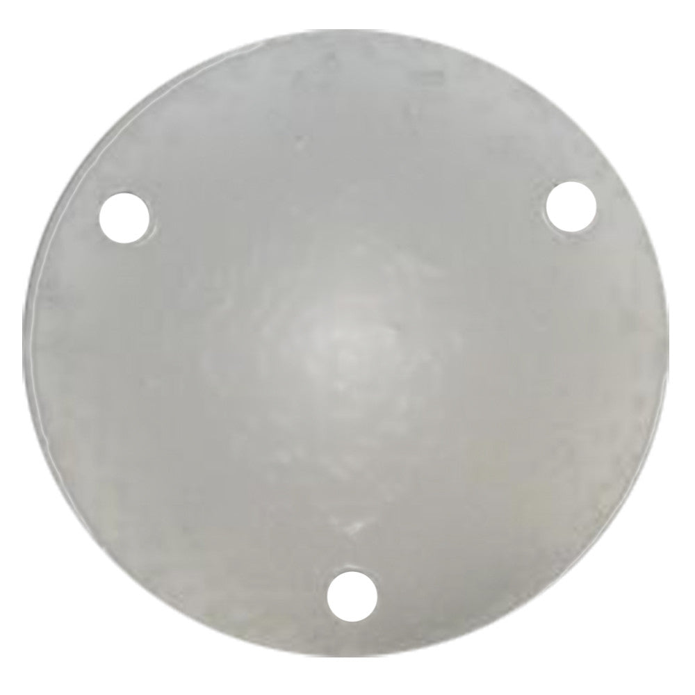 Wahoo 109 Backing Plate w Gasket - Anodized Aluminum