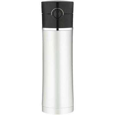 Thermos Sipp Vacuum Insulated Drink Bottle - 16 oz. - Stainless Steel Black