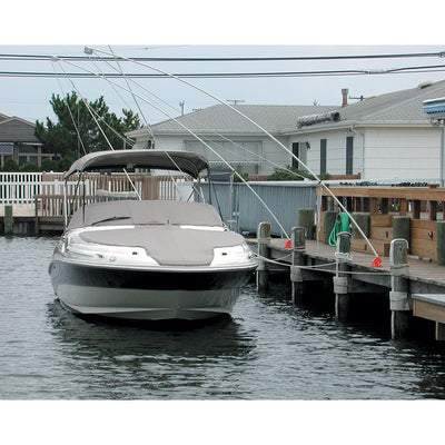 Monarch Nor'Easter 2 Piece Mooring Whips f Boats up to 30'