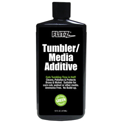 Flitz Tumbler Media Additive - 16 oz. Bottle