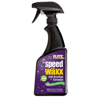 Flitz Marine Speed Waxx reg Super Gloss Spray - 16 oz. Bottle