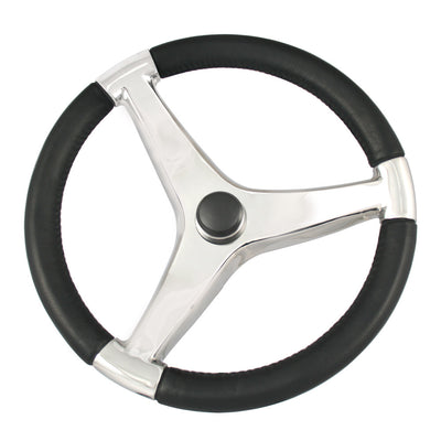 Ongaro Evo Pro 316 Cast Stainless Steel Steering Wheel - 13.5 Diameter
