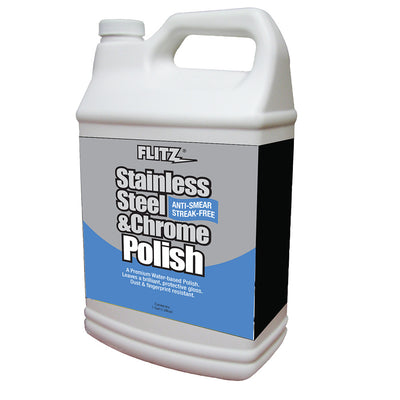 Flitz Stainless Steel Chrome Polish - 1 Gallon