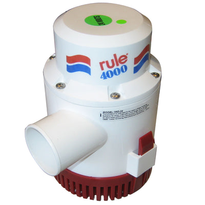 Rule 4000 Non-Automatic Bilge Pump - 24V