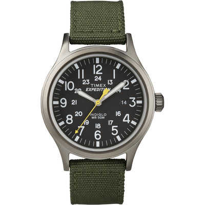 Timex Expedition Scout Metal Watch - Green Black