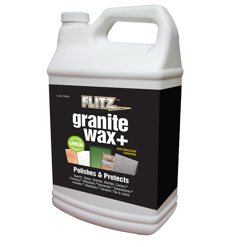 Flitz Granite Waxx Plus - Seal Protect - 1 Gallon (128oz) Refill