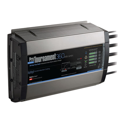 ProMariner ProTournament 360elite< i> Quad Charger - 36 Amp, 4 Bank