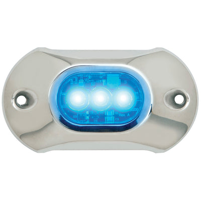 Attwood Light Armor Underwater LED Light - 3 LEDs - Blue