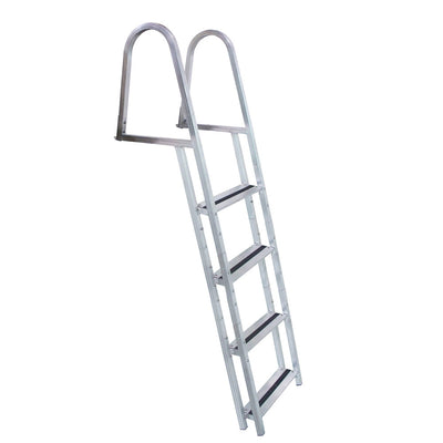 Dock Edge STAND-OFF Aluminum 4-Step Ladder w Quick Release
